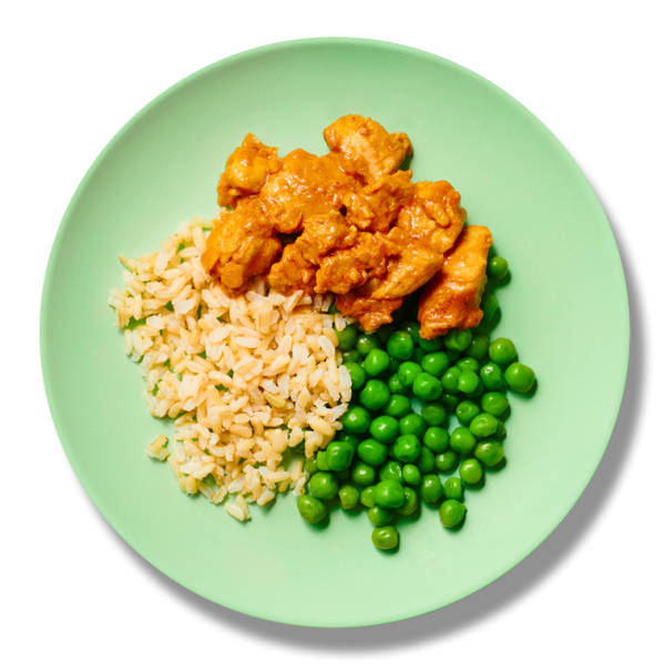 Growing Gourmet's medium portion for children and toddlers four to six years in age.